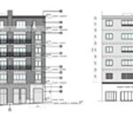 reparació façana, rehabilitació, inarq, pau diez, petrarca, barcelona