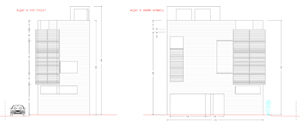Barri Vermell, Barcelona, inarq, pau diez, habitatge unifamiliar