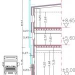 Secció tipus façana ASTA